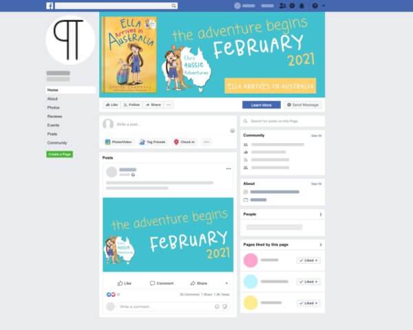 Impressum Social Media Kit Facebook Page Sample