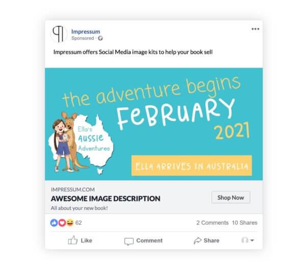 Impressum Social Media Kit Facebook Post Sample
