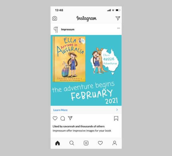 Impressum Social Media Kit Instagram Post Sample